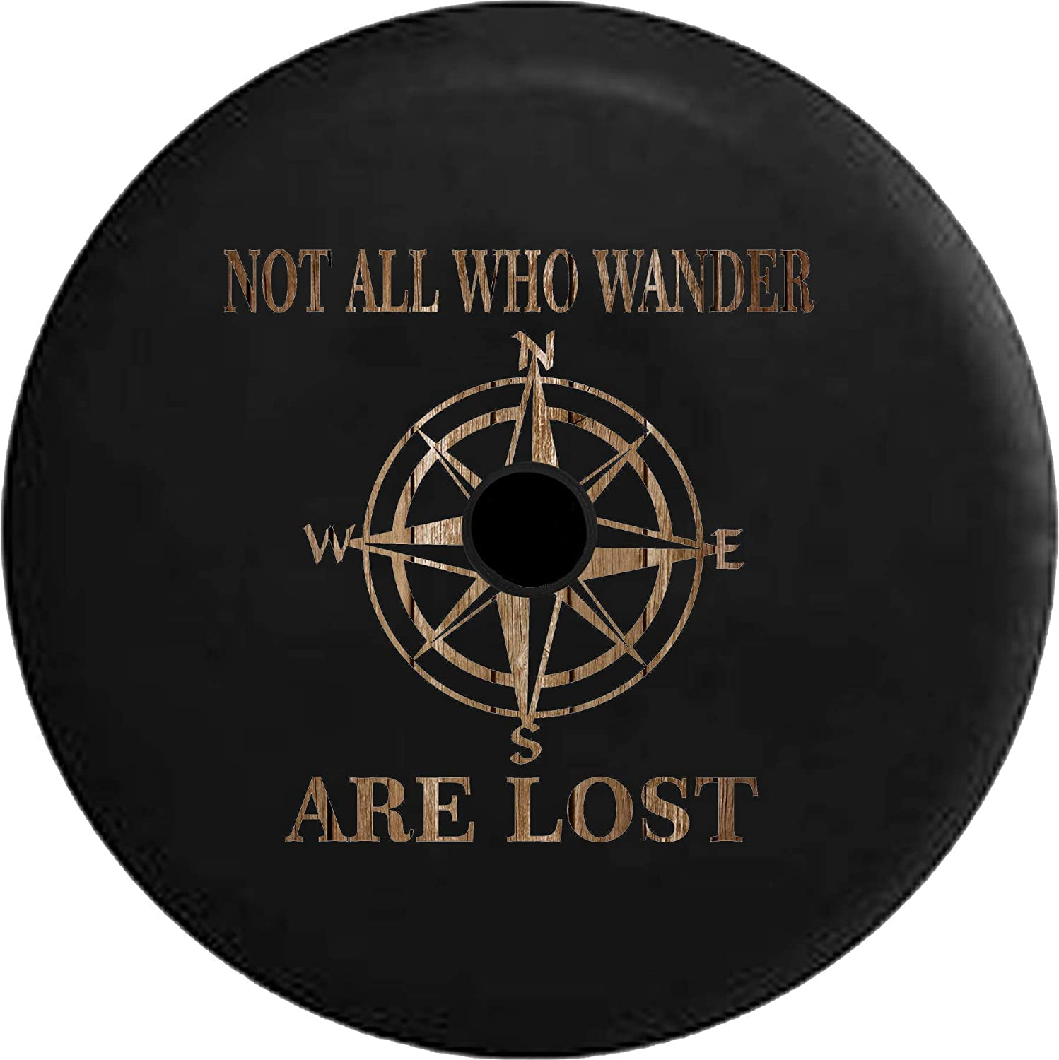 JL Spare Atlanta Mall Tire Cover Not All Super sale period limited Wood Wander Spar Distressed Barn Who