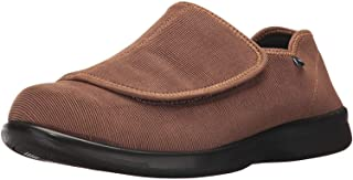 Propet Women's Cush 'N Foot Slipper, Sand Corduroy, 6.5