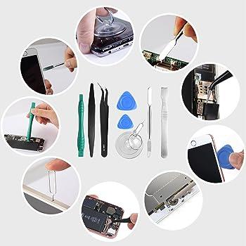 21pcs Precision Screwdriver Set Magnetic,GangZhiBao Repair Tools Kit for Fix Phone/iphone,Computer/PC,Tablet/Pad,Watc...