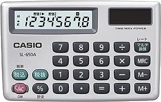 卡西欧个人计算器计算机8位税 マルチ換算 カードタイプ