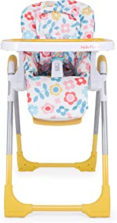 Cosatto Noodle 0+ Highchair - Compact, Foldable, Easy Clean, From birth to 15kg, Heidi