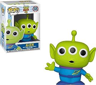 Alien: ディズニーピクサー トイストーリー 4 x Funko POP! ビニール製フィギュアとPOP!1個。 互換性のあるPETプラスチックグラフィックプロテクターバンドル [#525 / 37392 - B]