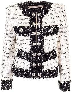 Balmain Luxury Fashion Womens SF07263C190GAB White Jacket | Fall Winter 19