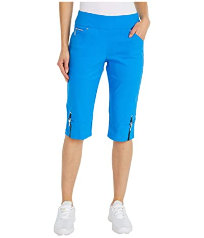 Jamie Sadock 24.5 Skinnylicious Pull-On Knee Capris (Apollo) Women