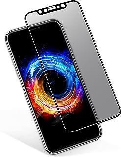 5b1dad81b VIUME Protector Pantalla iPhone X/XS Privacidad, Anti Spy Cristal Templado  Cobertura Completa Vidrio
