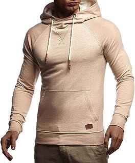Leif Nelson pour des Hommes Pullover Pull à Capuche Hoodie Sweatshirt LN8125