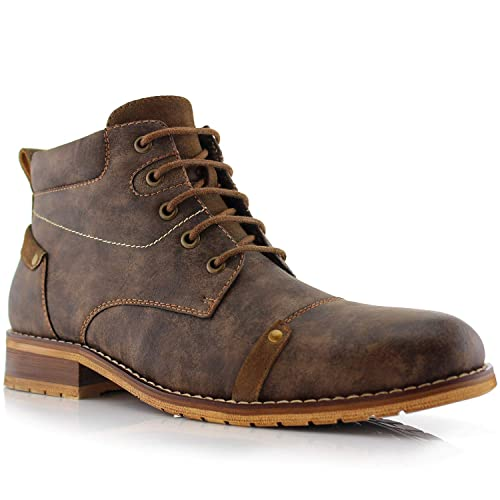59e7cd8016771b Ferro Aldo Colin MFA806033 Men s Stylish Mid Top Boots for Work Or Casual  Wear