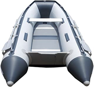 Newport Vessels 10ft 6in Inflatable Dinghy Boat Transom Sport Tender - 5 Person - 15HP USCG Rated