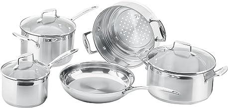 Scanpan Impact 5-Piece Cookware Set 25.0x56.5x36.0 Centimeters Silver