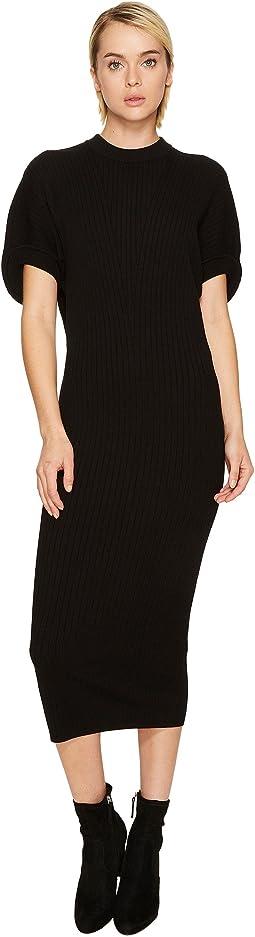 Sportmax - Volto Knit Short Sleeve Dress