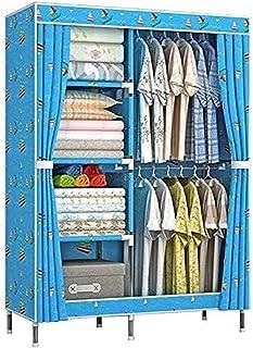 Penderies Mode Oxford Tissu Armoire Simple Combinaison Armoire Dortoir Chambre à Coucher Cabinet de Rangement Pratique Meu...