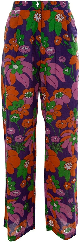 DODO BAR OR Women's DBO895MELISSAPURPLE Multicolor Cotton Pants