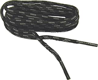 2 Pair Pack Heavy Duty Round 1/8 4mm Thick Boot Long Lasting Shoelaces