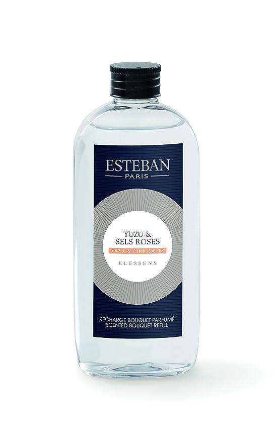 粉砕するを通して洗うエステバン エレッセンス ユズ&ピンクソルト フレグランスリフィル 150ml