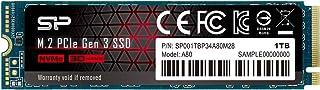 シリコンパワー SSD 1TB 3D TLC NAND M.2 2280 PCIe3.0×4 NVMe1.3 P34A80シリーズ 5年保証 SP001TBP34A80M28
