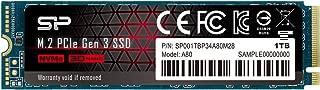 シリコンパワー SSD 1TB 3D NAND M.2 2280 PCIe3.0×4 NVMe1.3 P34A80シリーズ 5年保証 SP001TBP34A80M28