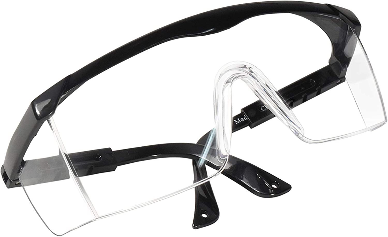 HQRP Gafas de seguridad con protección UV para el trabajo en el patio, jardinería, corte de césped, malezas, recorte de setos