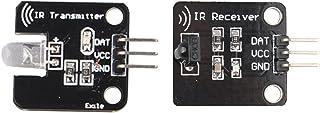 HALJIA Digital Receptor de Infrarrojos 38 KHz Infrared Sensor módulo de Memoria con transmisor Kit Set para Arduino