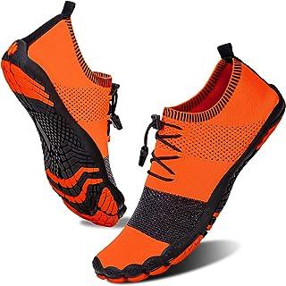 Chaussures Aquatiques Homme et Femme Séchage Rapide Chaussure pour Sport Aquatique Antidérapant Chaussures d'eau Outdoor J...