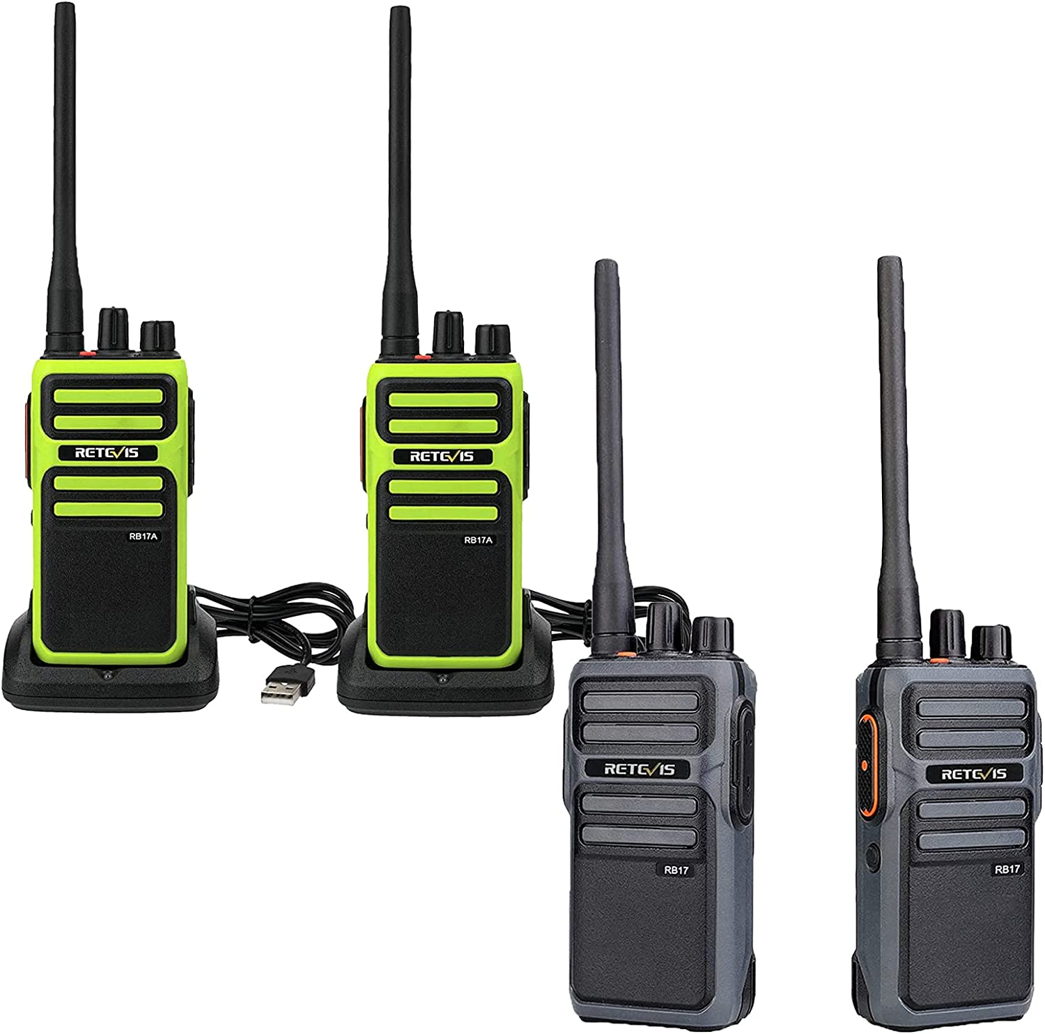 Sales for sale Retevis RB17A Walkie Talkies 2 Pack Way RB17 Limited Special Price Two Radio P and
