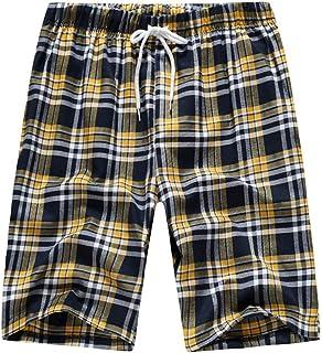 Pantaloncini Pigiama Uomo Corti Shorts Pantaloni Pigiami Ragazzo Pantalone Pigiama Uomini Estivo per Casa Sportivi Casual ...