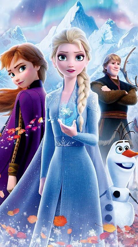 ディズニー 『アナと雪の女王2』 XFVGA(480×854)壁紙画像