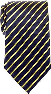 Retreez Thin Regimental Striped Woven Microfiber Men's Tie - Various Colors