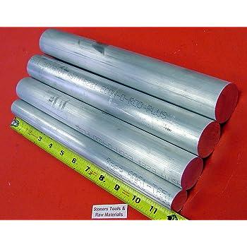 """3 1//2/"""" 3.50 Aluminum Round Bar Rod 6061 x 6/"""""""