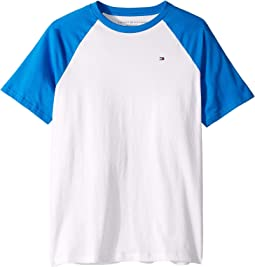 Raglan Crew Neck Tee (Big Kids)
