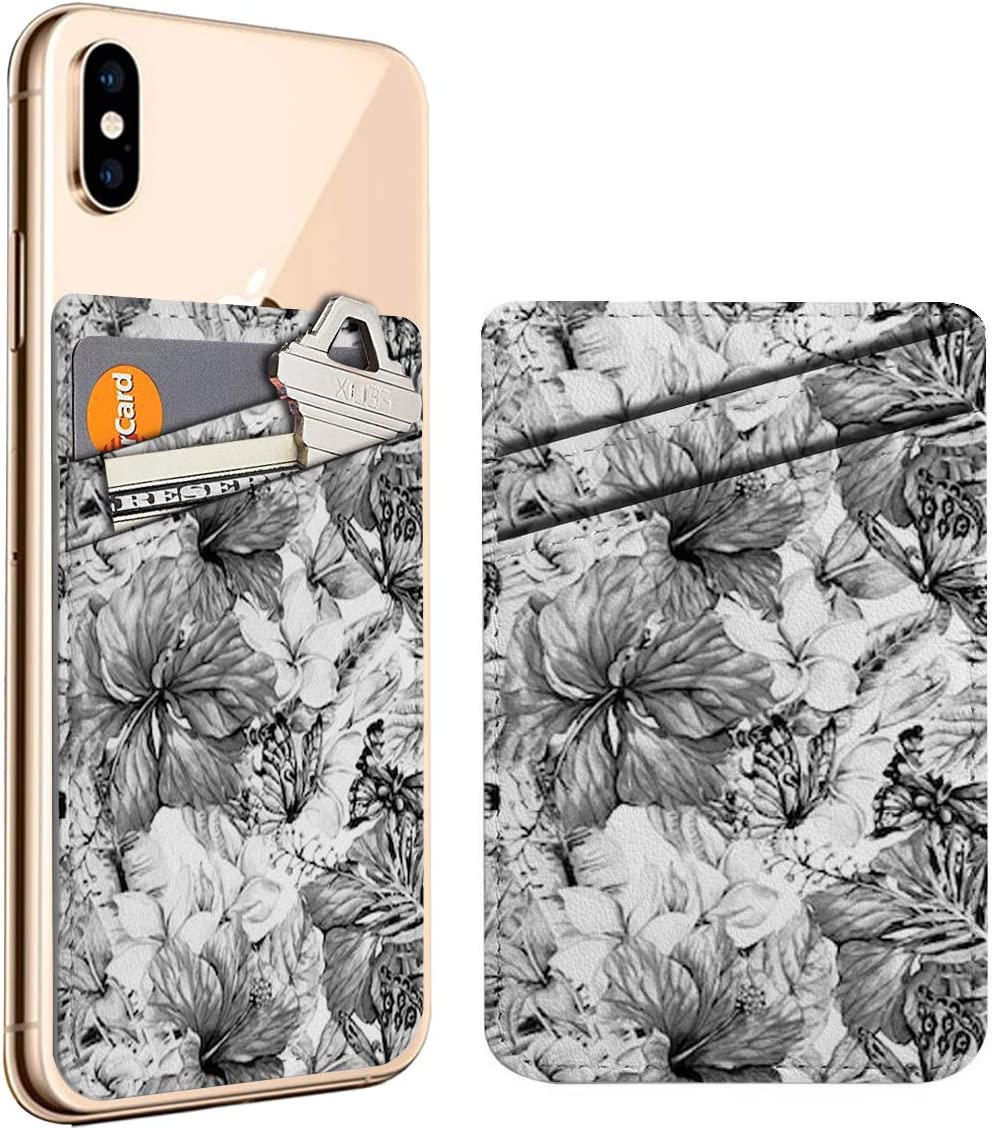 Black White Watercolor Vintage Tropical On Stick Max 41% OFF ID Cell Phone OFFicial