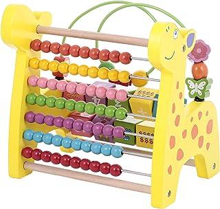 Canoe Giraffe Counting & Slider Maze Toy - CT201216RJ84, Multi Color
