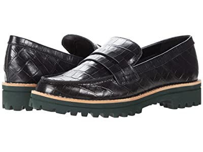 Dolce Vita Aubree (Noir Croco Print Leather) Women