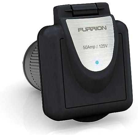 Furrion F52INS-BS 50A 125/250V Power Inlet - Black