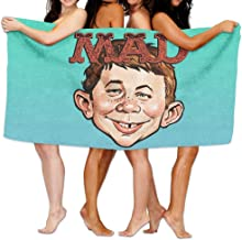XianNonG Magazine Absolutely MAD Beach Pool Towel 100% Polyester Fabric Microfiber