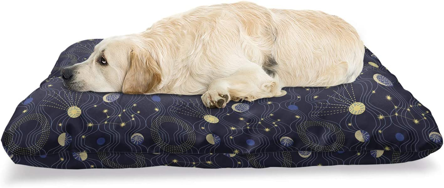 Ambesonne Night Sky Cheap bargain Pet Bed Style Retro Illustration C Max 63% OFF with