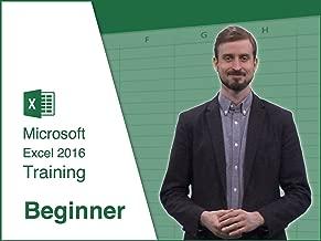 Microsoft Excel 2016 - Training