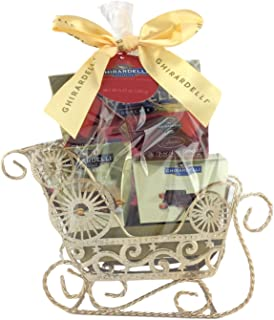 Ghirardelli Silver Sleigh Gift Set (Silver Sleigh)