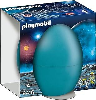 PLAYMOBIL- Agente Espacial con Robot Juguete, Multicolor (geobra Brandstätter 9416)