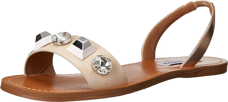 Steve Madden Womens Ameline Flat Sandal