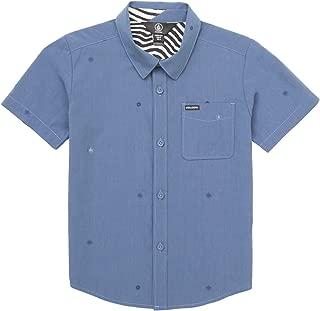Bleeker Short Sleeve Button Up Shirt Little Boys
