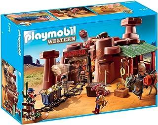 Playmobil - Mina del Oeste, Set de Juego (5246)