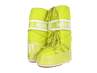 MOON BOOT 10 Classic Moon (Lime) Cold Weather Boots