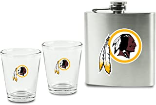 washington redskins shot glasses