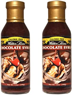 Walden Farms Calorie Free Syrup, Chocolate 24 Ounce (Pack of 2)