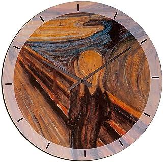 Artopweb Wall Clock, MDF Panel, Multicolour, Size: 60 x 60 Cm