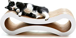 PetFusion Ultimate Cat Scratcher Lounge. [Superior Cardboard & Construction]. Beware..