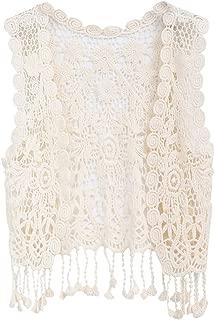 toddler crochet vest