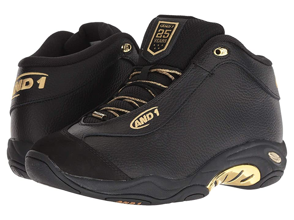 AND1 Tai Chi LX (Black/Black/Pale Gold) Men
