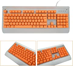 orange and black keycaps