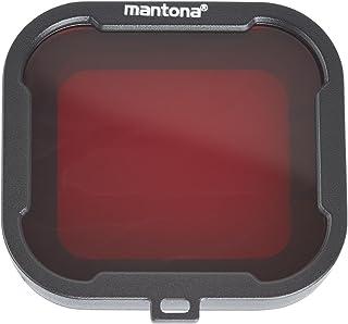 Mantona Zestaw filtrów GoPro Hero 4/3+ - szary/czerwony/żółty/liliowy